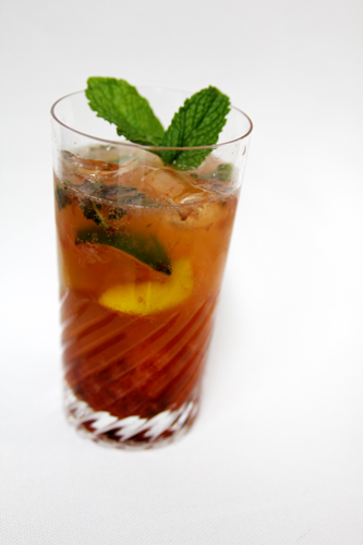 Fancy Mojito' with strawberries, limes, pink lemons, meyer lemons ...